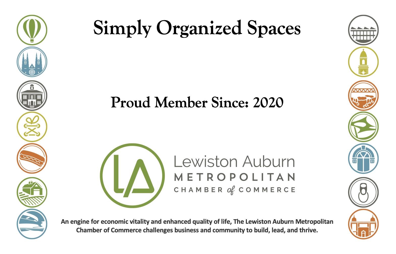 Chamber Membership Plaque
